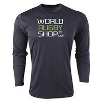 World Rugby Shop Long Sleeve Training Top (Black)