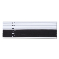 Nike Swoosh Sport Headbands-Six pack (Blk/Wht)