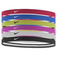 Nike Swoosh Sport Headbands-Six pack (Sc/Ro)