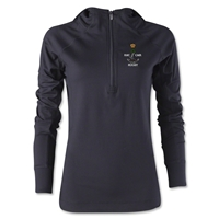 Royal Military College of Canada Rugby Women's 1/4 Zip Training Hoody (Black)