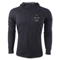 Royal Military College of Canada Rugby 1/4 Zip Training Hoody (Black)