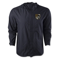 University of Wisconsin Milwaukee Rugby Performance Rain Jacket (Black)