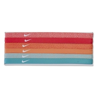 Nike Dot Print Headband Assorted 6-Pack (Red)