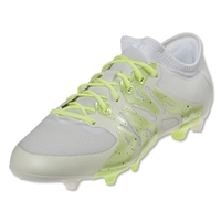 adidas X 15.2 Women's FG/AG (White/Night Metallic)