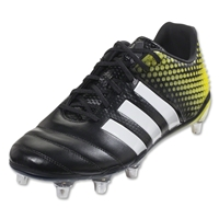 Adidas Adipower Kakari 3.0 SG Rugby Boots(Core Black/White/Electric Yellow)