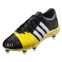 Adidas FF80 2.0 TRX SG II Rugby Boots (Core Black/White/Electric Yellow)