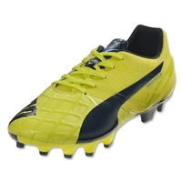 PUMA evoSPEED Women's 1.4 FG (Sulphur Spring/Total Eclipse/Electric Blue)