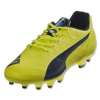 PUMA evoSPEED Women's 4.4 FG (Sulphur Spring/Total Eclipse/Electric Blue)