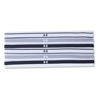 Under Armour Women's Mini Headband 6 pack (Black)