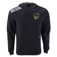 University of Wisconsin Milwaukee Rugby BLK TEK VI Hoody (Black)
