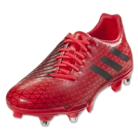 Adidas Malice SG Rugby Boots (Shock Red/Core Black/Power Red)