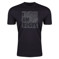 Upright Craft Rugby I Am Rugby T-Shirt (Black)