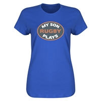 My Son Plays Rugby Women's T-Shirt