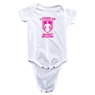 I Stand Up Against Bullying Pink Logo Onesie