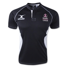 Rugby Fights Cancer Gilbert Xact V2 Youth Jersey (Black/White)