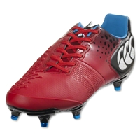Canterbury Control Elite 6 Stud Rugby Boots (True Red)