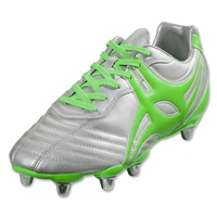 Gilbert Sidestep XV 8S Rugby Boots (Chrome)