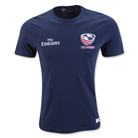 USA Rugby 2016 Badge T-Shirt (Navy)