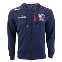 USA Rugby 2016 Full Zip Performance Hoody