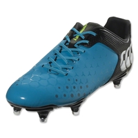 Canterbury Control Club 6S Rugby Boots (Atomic Blue/Black)
