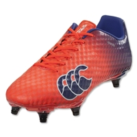 Canterbury Speed Elite 6S Rugby Boots (Firecracker/Clematis)