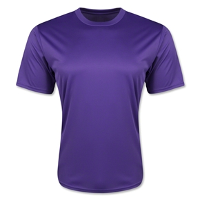 Moisture Wicking Poly T-Shirt (Purple)