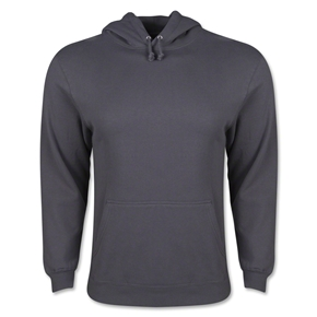 Hooded Pullover Fleece (Dk Grey)