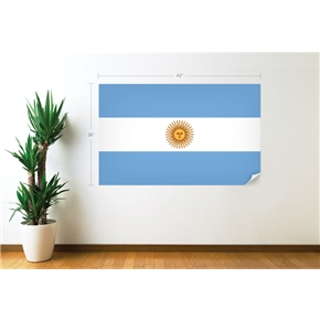 Argentina Flag Wall Decal