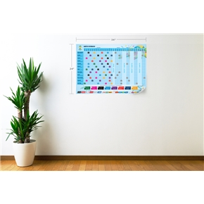 2014 FIFA World Cup Match Schedule Wall Decal