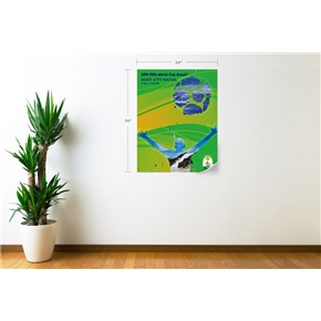 Natal 2014 FIFA World Cup Host City Poster Wall Decal