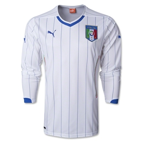 Italy 14/15 LS Away Soccer Jersey
