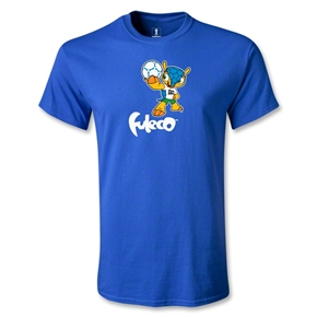 2014 FIFA World Cup Brazil(TM) Mascot Standard T-Shirt (Royal)