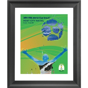 Natal 2014 FIFA World Cup Host City Framed Print