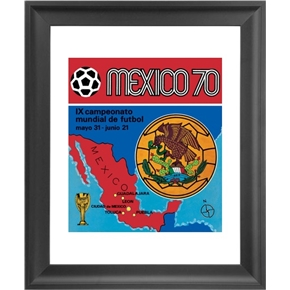 Panini 1970 FIFA World Cup Mexico Framed Print 16x18