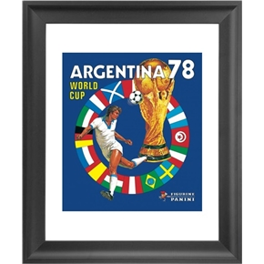 Panini 1978 FIFA World Cup Argentina Framed Print 16x18