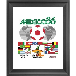 Panini 1986 FIFA World Cup Mexico Framed Print 16x18