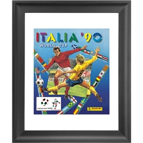 Panini 1990 FIFA World Cup Italy Framed Print 16x18