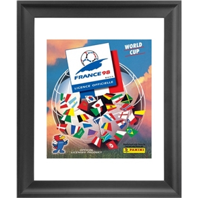 Panini 1998 FIFA World Cup France Framed Print 16x18