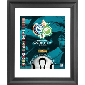 Panini 2006 FIFA World Cup Germany Framed Print 16x18