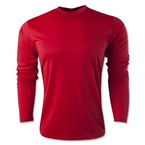 Long Sleeve Training Top (Red)