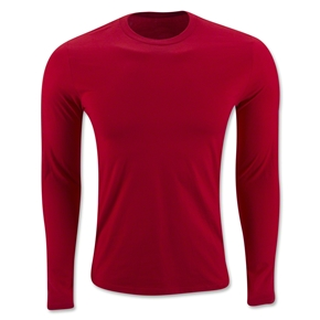 Long Sleeve Supersoft T-Shirt (Red)