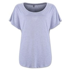 Women's Tri-Blend Dolman Top (Ash Gray)