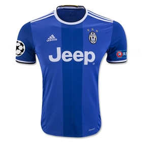 Juventus 16/17 Away Soccer Jersey w/ Champions League Patch
