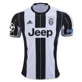 Juventus 16/17 Home Soccer Jersey w/ Champions League Patch