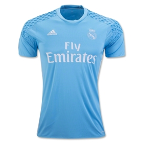 Real Madrid 16/17 Home Goalkeeper Jersey