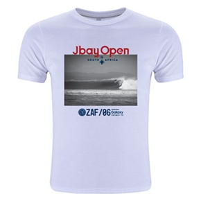 J-Bay Open Youth Wave Tee (White)